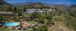 Cathedral Peak Hotel - Aerial of the Hotel
