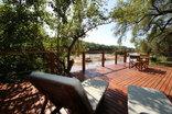Bushriver Lodge - Hlatifula Main Lodge - Room 5 - Patio