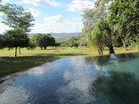 Matumi Golf Lodge - Poolside View