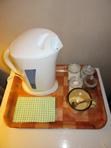 Milton's Guesthouse - Complimentary Coffee & Tea Tray