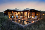 Kwandwe Private Game Reserve - Ecca Lodge - View from Outside