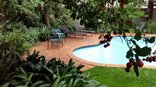 Rosebank Lodge - Pool and Garden