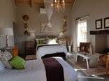 Karoo View Cottages - Karoo View 3 bedroom house en-suite bedroom No 1