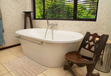 Martins Nest - Green room bathroom