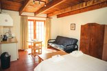 Wilgewandel Holiday Farm - room with double bed and sleeper