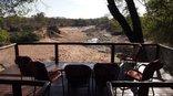 Nyala Safari Lodge - deck