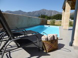 Saddlebrook Cottage Franschhoek South Africa - Pool & Sun Patio