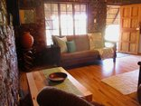 Valley Bushveld Country Lodge - Sleeper Couch in Family Room