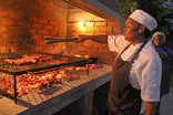 Cape St Francis Resort - A braai in the boma