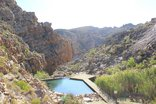 Karoo 1 Guest Farm - Our spectacular rock pool