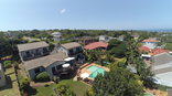Crooked Tree Cottage - Aerial View