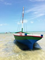 Casa Chibububo Lodge - Our Motorized dhow - Lisa - available for island hopping and fishing trips