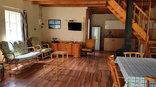 Kinmel Guest Farm - Chalet living area