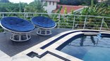 Gee Wizz Bed and Breakfast/Selfcatering - Gee Wizz Swimming Pool and deck