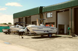 Jesser Point Boat Lodge - Boat & vehicle garages
