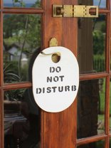 Panorama Hideaway, Underberg - Front door sign