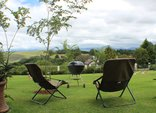 Panorama Hideaway, Underberg - Patio view