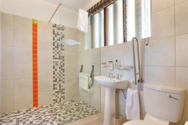Disabled-friendly shower room