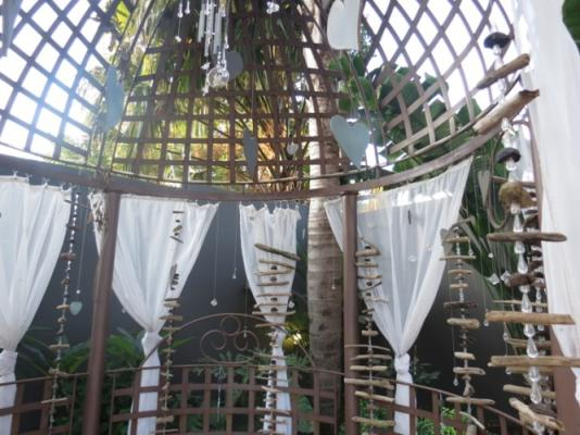 Beach Themed Romantic Gazebo