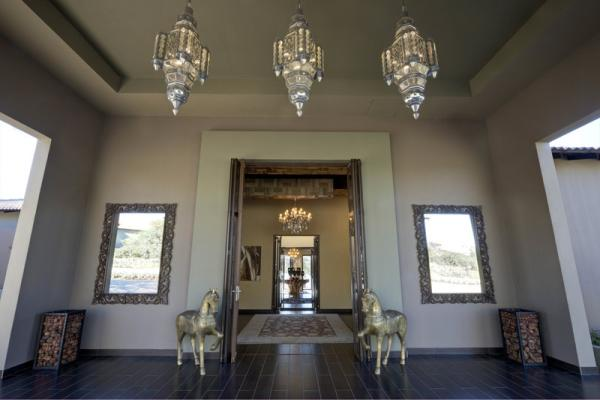 Entrance to the reception area