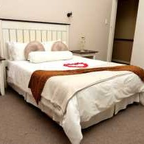 Bedroom in honeymoon suite