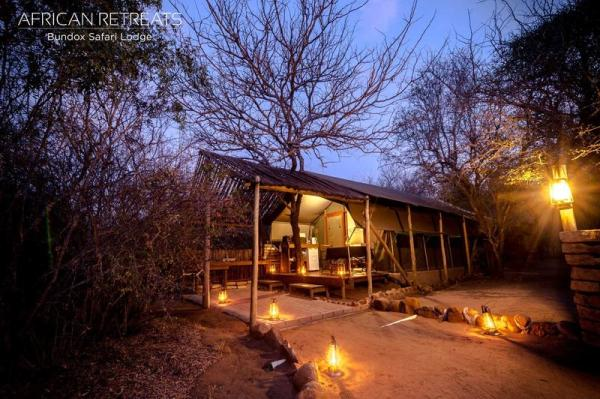 Safari Tent from the outside