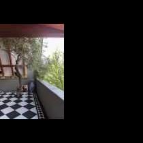Balcony to three rooms