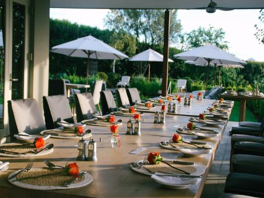 Dinner at Angala Boutique Hotel