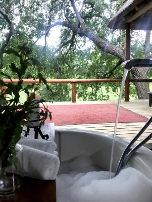 Karongwe River Lodge - bathtub
