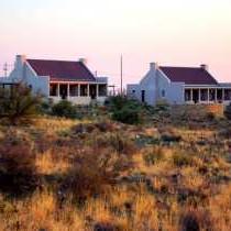 Karoo View Cottages early morning