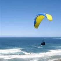 Paragliding at Brenton