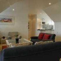 Lounge area Lighthouse Suite