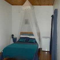 Double bed room interior