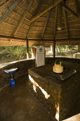 Narina Bushveld Camp Kitchen