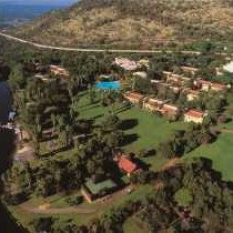 Aerial View of the Cabanas