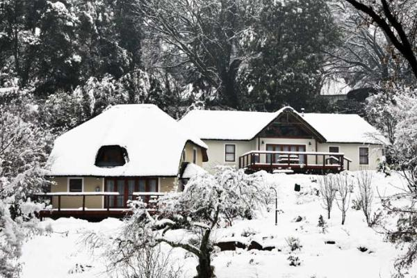Self-catering Cottage in winter time