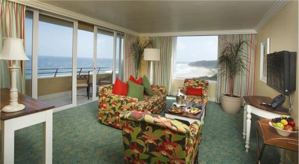 Presidential Suite - Lounge with sea view