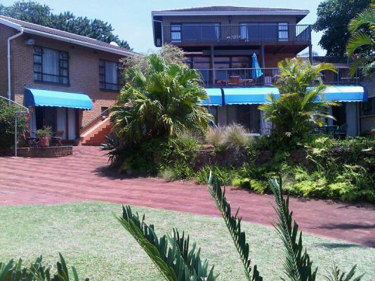 Front of Guesthouse