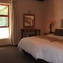 4 sleeper chalet bedroom