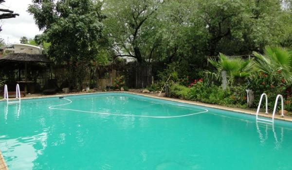 The 13 x 7 m pool