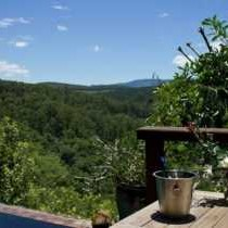 Deck and View from Tanamera Main Lodge