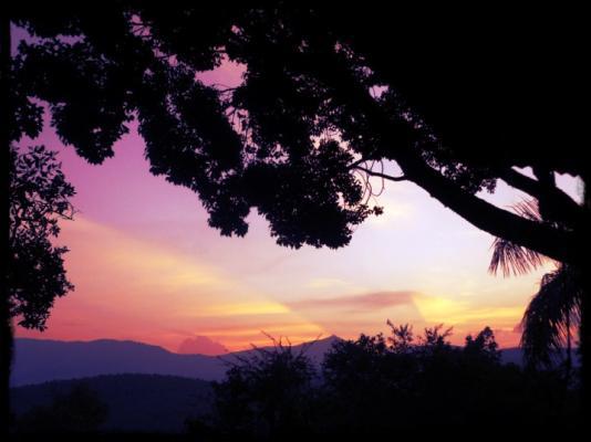 Sunset at Granny Dots