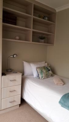 Family two bedroom apartment 2nd bedroom with 3/4 size bed