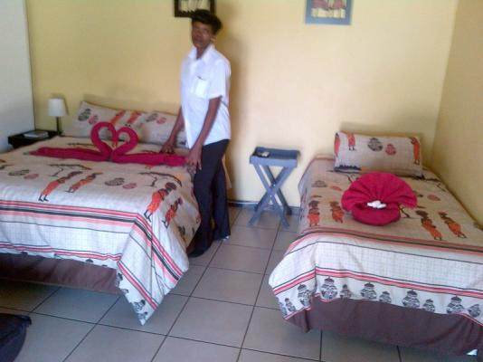 Double bed room, room 4