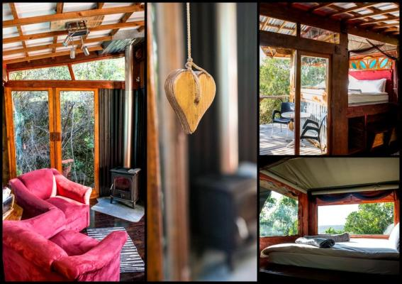 Fly Me to The Moon Forest Cabin