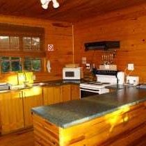 Bush Baby Self Catering Tree Cabin - Kitchen